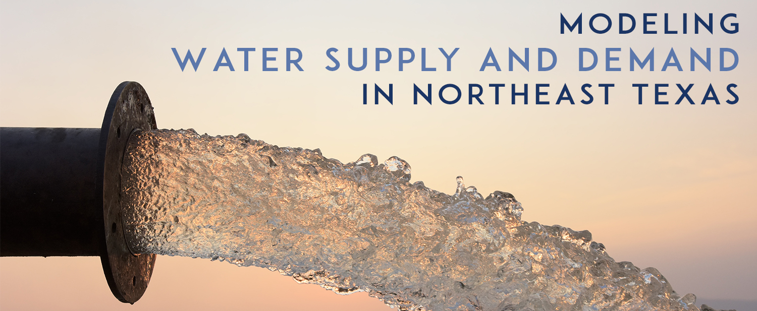 Modeling Water Supply and Demand in Northeast Texas